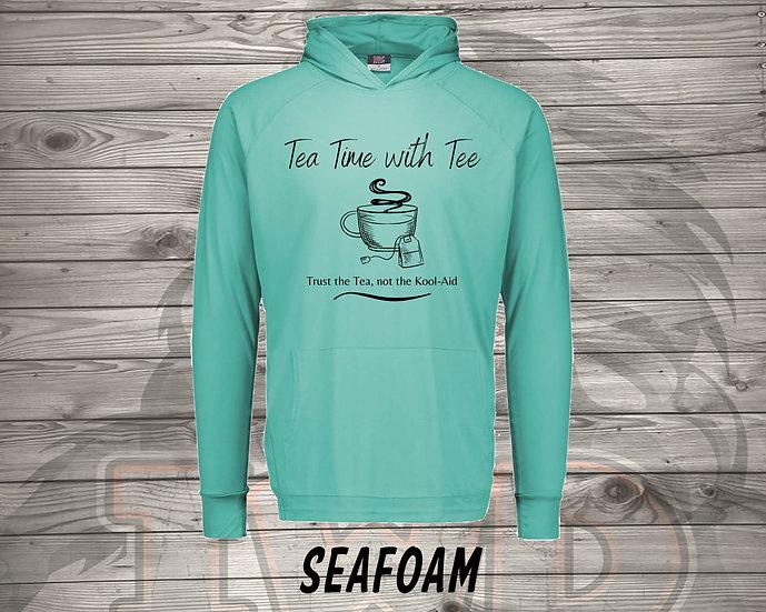 210824.1 - Tea Time with Tee  - Long Sleeve Hoodie
