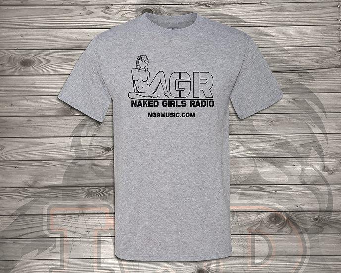210621.5 - Naked Girls Radio Logo - Unisex T-Shirt