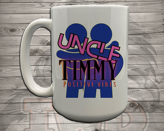 210614.4 Uncle Timmy Logo - 5 Styles of Mugs