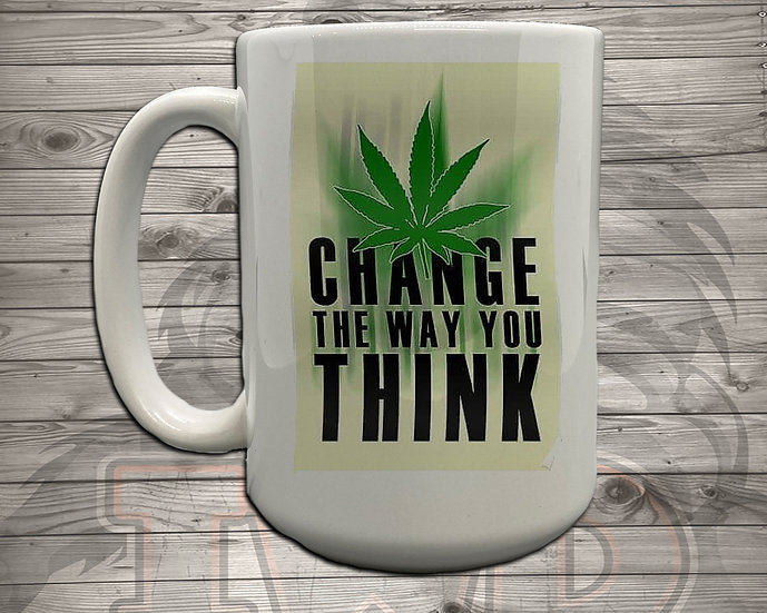 210826.4 Change The Way You Think - 5 Styles of Mugs