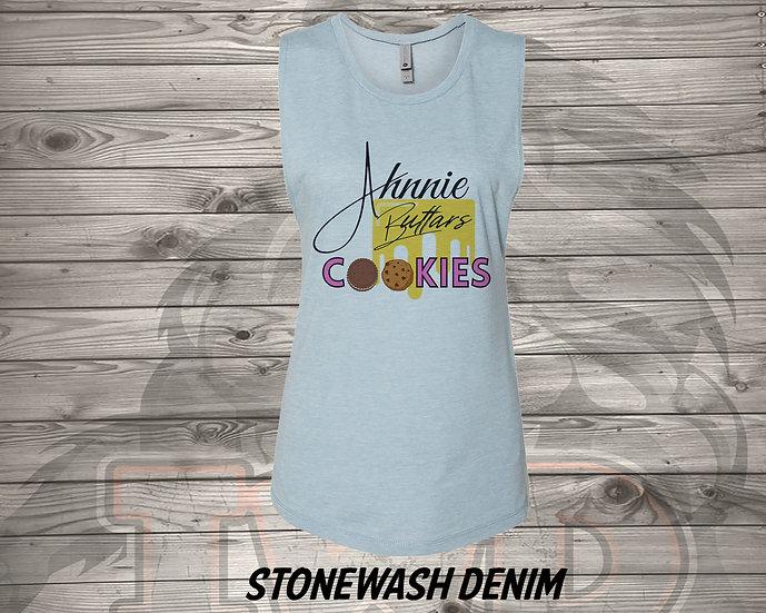 210803.2 - Ahnnie Buttars Cookies - Women's Sleeveless Tank