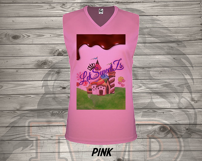 210825.3 - Candy Land LDSweets - Ladies V- Neck Sleeve