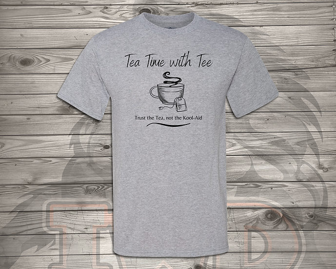 210824.1 - Tea Time with Tee - Unisex T-Shirt