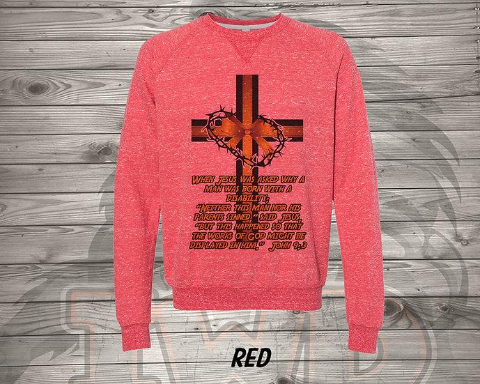 210615.1 - DaddyTrumpTrav - John 9:3 - Sweatshirt