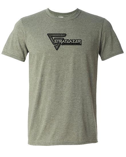 210602.1 - Stratgazer Ent Logo Black Border - Unisex T-Shirt