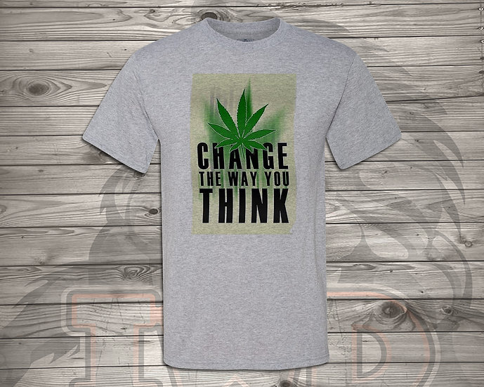 210826.4 Change The Way You Think - Unisex T-Shirt