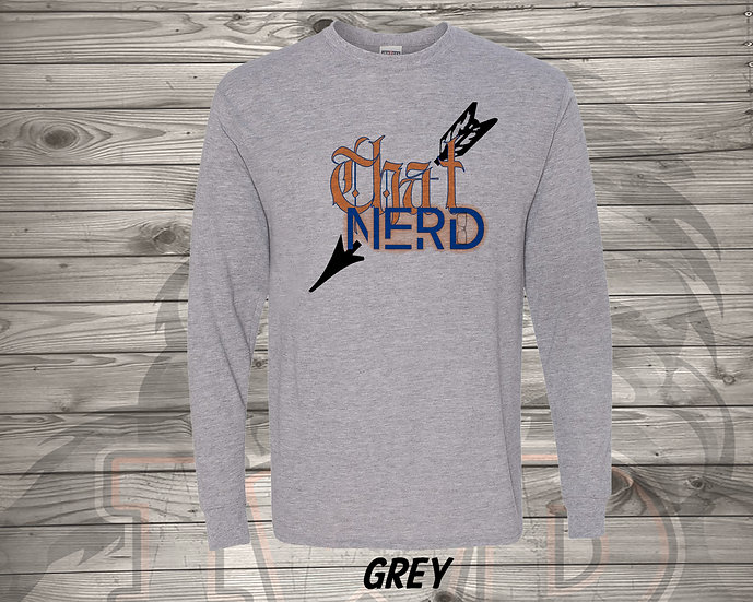 210615.2 - That Nerd With Tattooes Logo - Long Sleeve Tee