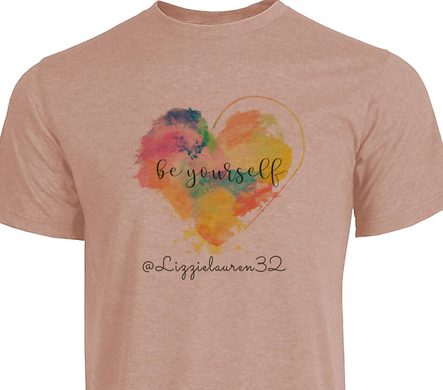 210518.2 - Unisex Short Sleeve T-Shirt - Lizzie - Be Yourself
