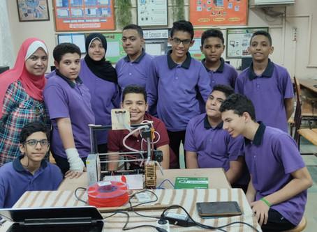 Hamdan  Foundation Empowers 12 Schools with Digital Fabrication Machines