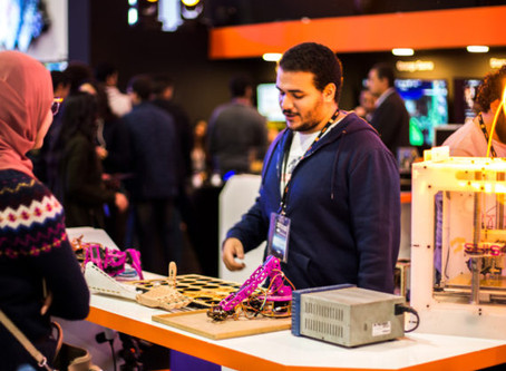 Fab Lab Egypt At ICT 2017 - In Collaboration with Orange