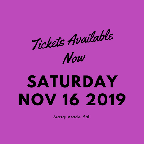 Tickets available now Masquerade Ball 20