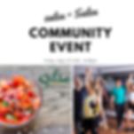 Salsa + Salsa community event Salsa Des