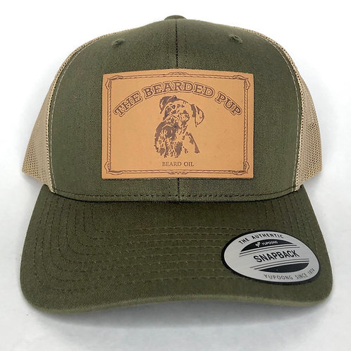 TBP Leather Patch Hat