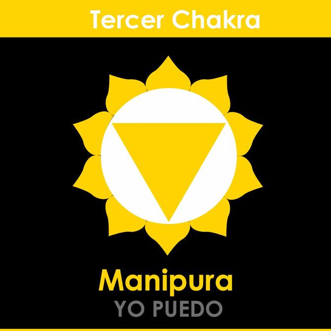 El tercer Chakra: Manipura Chakra (Chakra Plexo Solar).