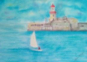 Sailing Dun Laoghaire_