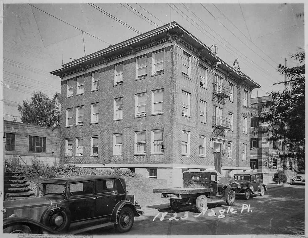 Agincourt Apartments at 1823 Nagle Pl in 1936