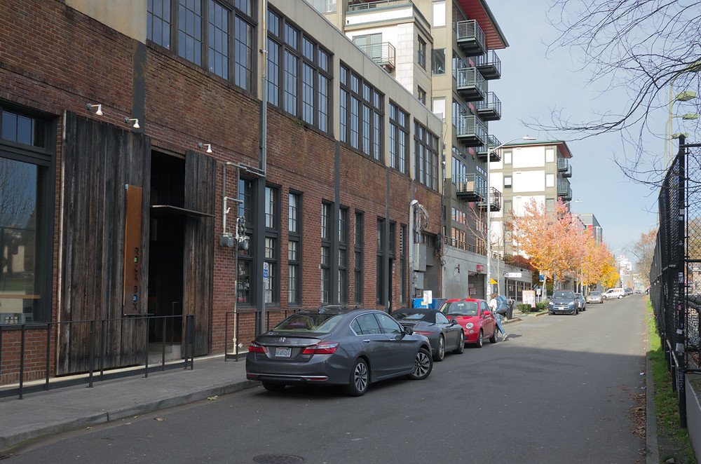 Nagle Place from Pine Street