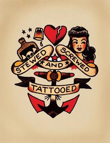 Stewed, Screwed, and Tattooed
