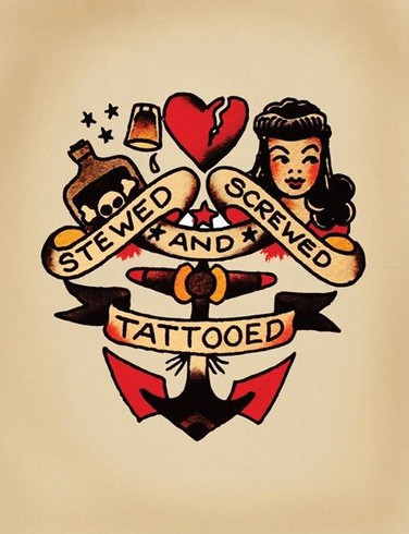 Stewed, Screwed, and Tattooed