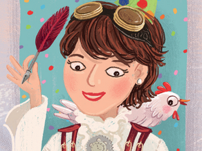 A Fun Interview with Jill Ross Nadler, author of SUCH A LIBRARY!: A YIDDISH FOLKTALE RE-IMAGINED