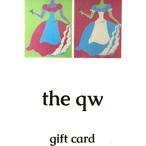 QW GIFT CARD $150