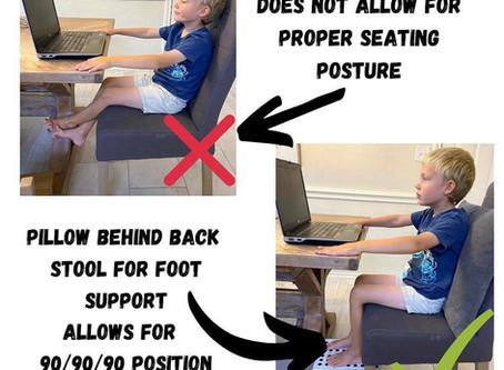 Desk tips for virtual learning