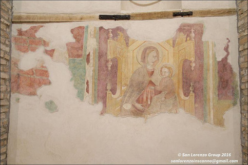 affresco chiesa di san lorenzo