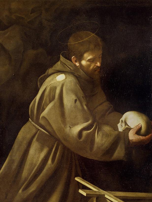 Caravaggio San Francesco in preghierated.jpg