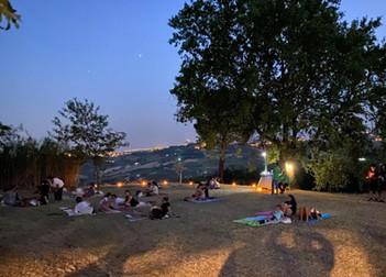 cinema sotto le stelle a san lorenzo
