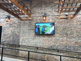 Outdoor TV Install
