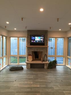 Fireplace TV