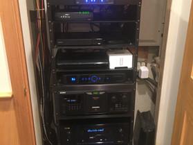 Home Audio Rack