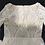 Thumbnail: Unique Lace Long Sleeves Open Back Elegant Chiffon Detachable Train Bridal Gown