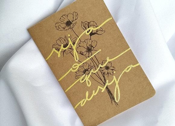 Caderneta Seja o que Deseja
