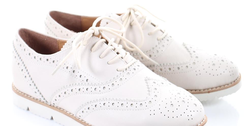 Oxford Shoes (White)