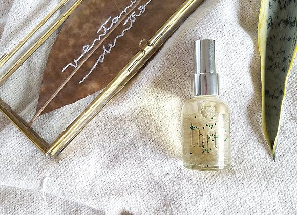 FLORIM - kit perfume 30ml + folha bordada