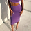 Thumbnail: Double Layers High Waist Pencil Midi Skirt Cotton and Polyester