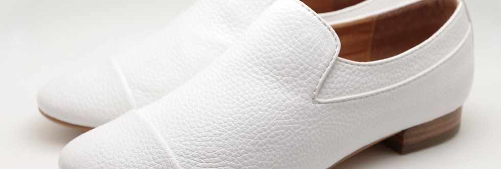 Slip on Shoes (White)