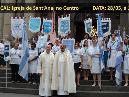 Movimentos Marianos na Hora Santa - Semana Eucarística