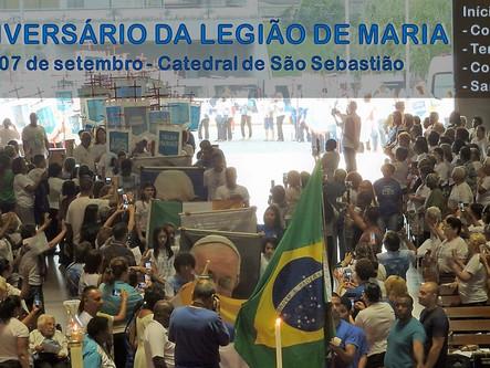 ANIVERSÁRIO DA LEGIÃO DE MARIA!