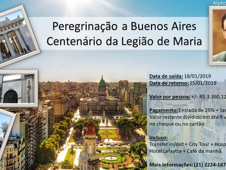 Peregrinação a Buenos Aires - Centenário da Legião