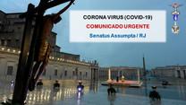 COMUNICADO SOBRE COVID-19 (atualizado)
