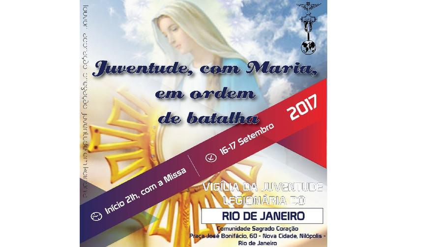Vigília da Juventude Legionária do Rio de Janeiro