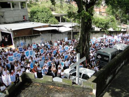 Santuário da Penha recebe 20ª Caminhada da Legião de Maria