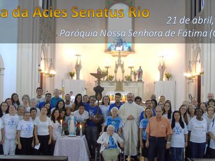 A Acies do Senatus Rio será dia 21 de abril!