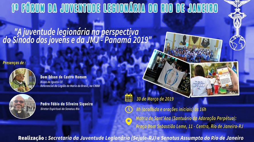 1º Forum da Juventude Legionária do Rio de Janeiro