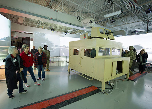 Humvee sim with Melissa ISD.jpg