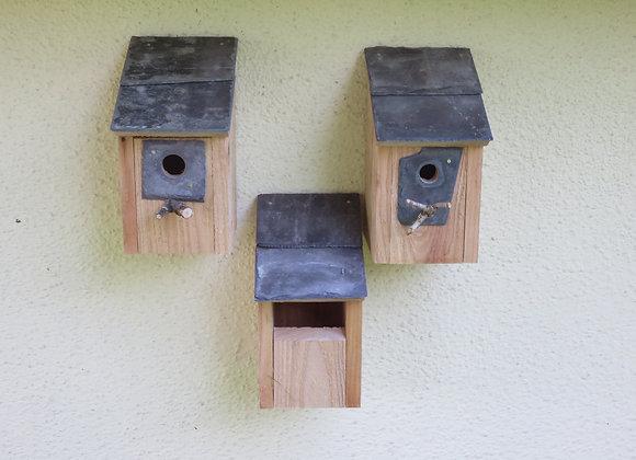 Set of 3 Bird Boxes