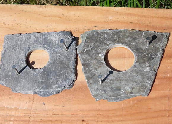 Pair of hole protection plates 1 x 25 mm & 1 x 32 mm