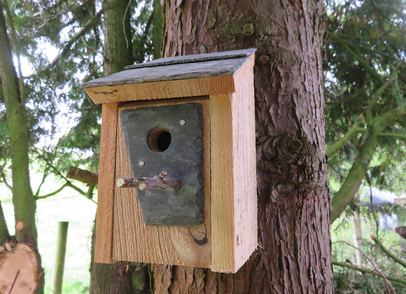 Lean to Nest Box - 25 mm hole